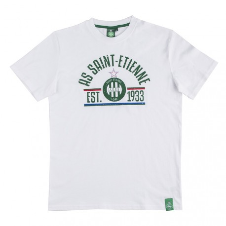Tee-Shirt ASSE Fan Blanc