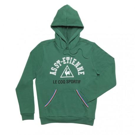 Sweat capuche vert ASSE 2017 - 2018 Le Coq Sportif