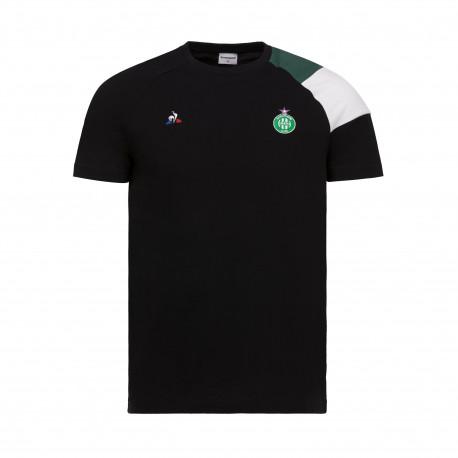 Tee-Shirt ASSE Le Coq Sportif N°5 NOIR 2018 / 2019