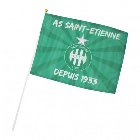 Drapeau ASSE vert