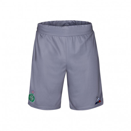 SHORT Junior ASSE Le Coq sportif GRIS 2019 / 2020