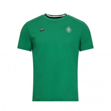 Présentation Tee-shirt ASSE Le coq sportif VERT 2019 / 2020