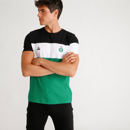 Tee-shirt ASSE Le Coq sportif FAN N°1 TRI 2019 / 2020