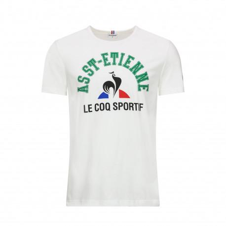 Tee-shirt Le Coq Sportif FAN N°2 BLANC 2019 / 2020