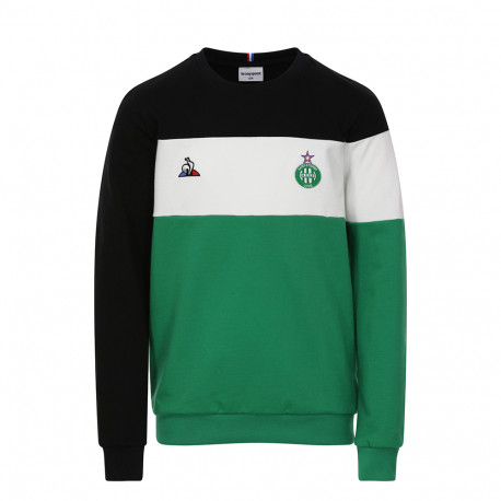 SWEAT ASSE Le Coq sportif FAN N°1 Junior VERT 2019 / 2020