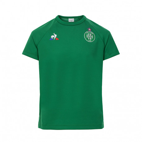 Training Tee-shirt Junior ASSE Le Coq sportif VERT 2019 / 2020