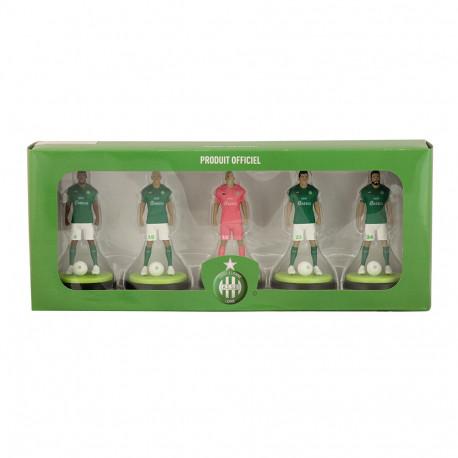 Pack de 5 figurines ASSE 10 cm