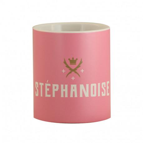 Mug ASSE Stéphanoise rose