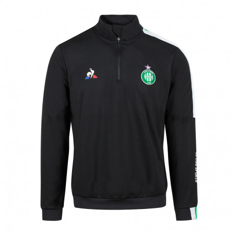 Sweat ASSE Training Noir Le Coq Sportif 2020 / 2021