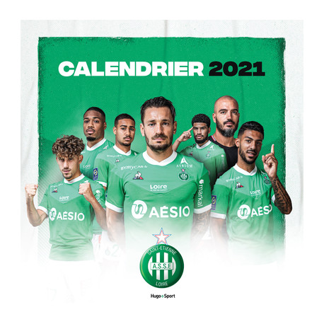 Calendrier ASSE 2021