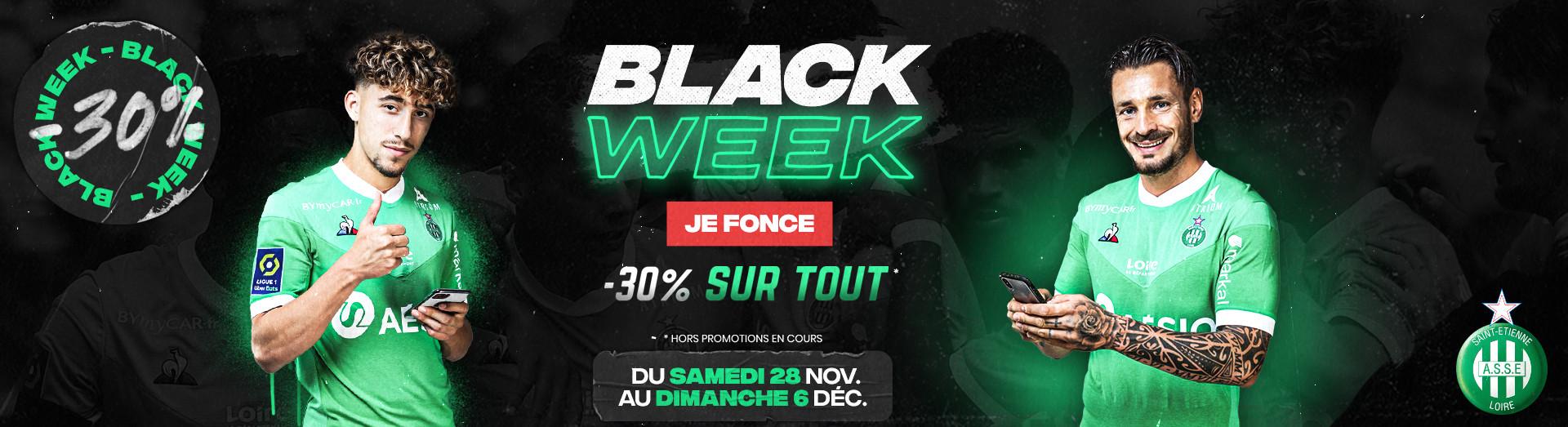 Black Week 2020 -30% sur tout