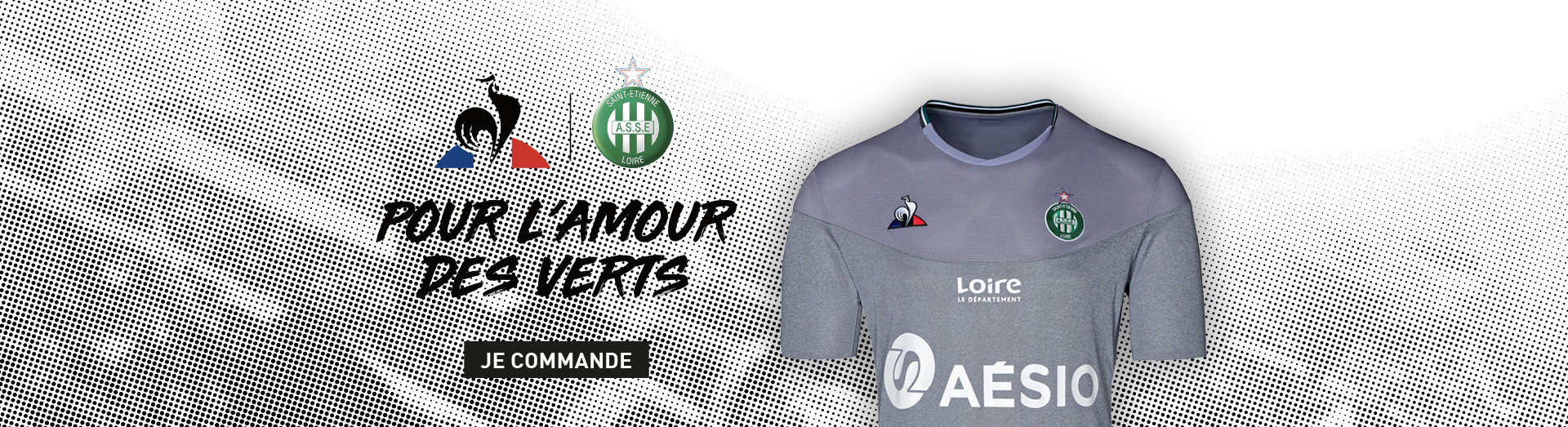 Maillots ASSE 2019 - 2020 Third Gris