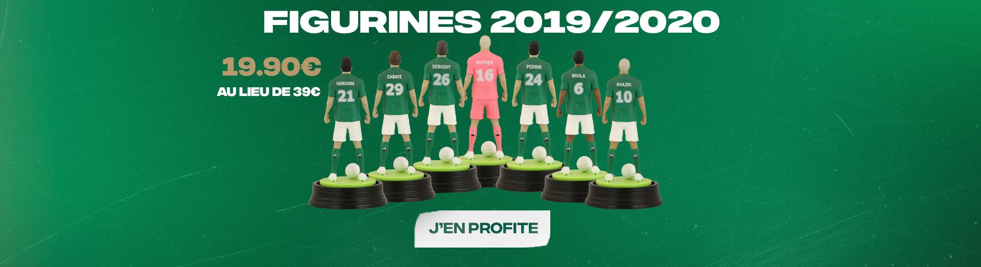 Figurines joueurs ASSE 2019 / 2020